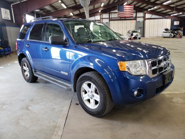 Salvage cars for sale from Copart East Granby, CT: 2008 Ford Escape HEV