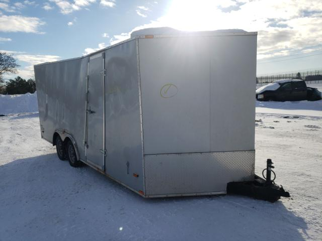Salvage cars for sale from Copart Kincheloe, MI: 2012 Stealth Trailer