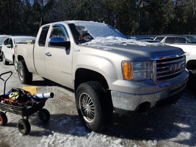 Salvage cars for sale from Copart Lyman, ME: 2009 GMC Sierra K15