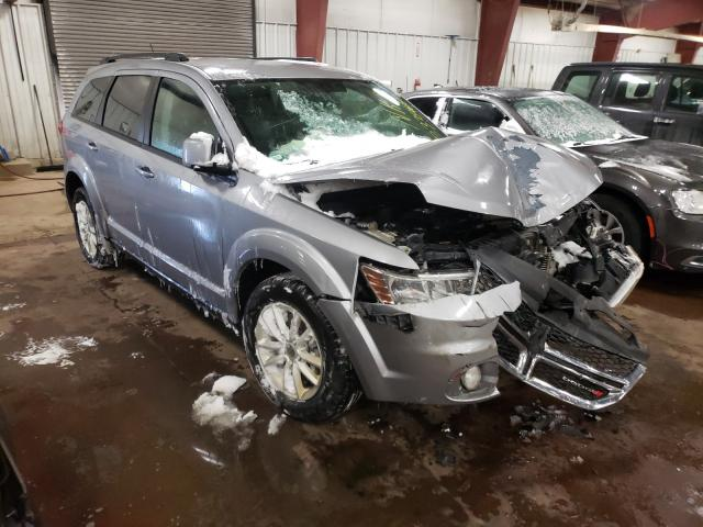 Salvage cars for sale from Copart Lansing, MI: 2016 Dodge Journey SX