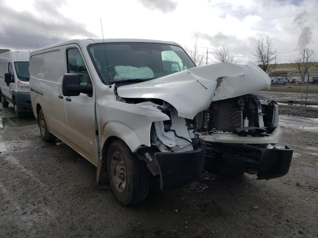 Salvage cars for sale from Copart Eugene, OR: 2020 Nissan NV 2500 S