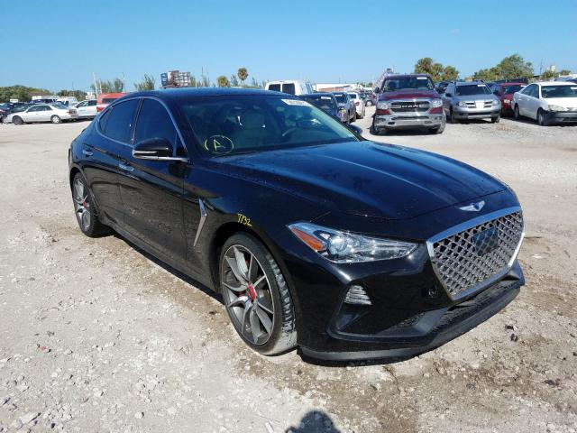 Genesis salvage cars for sale: 2019 Genesis G70 Advance