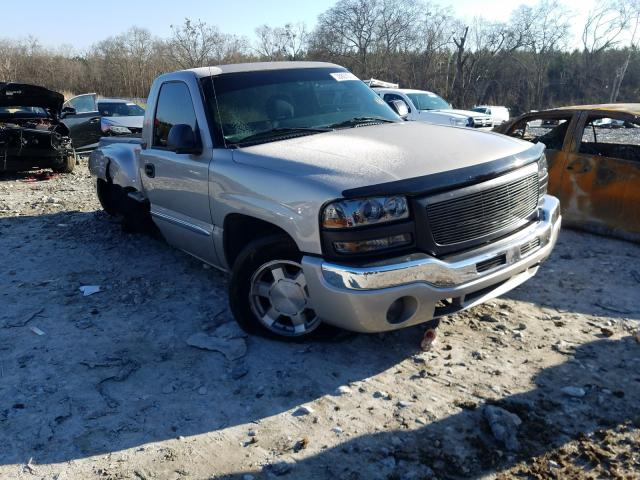 Salvage cars for sale from Copart Cartersville, GA: 2004 GMC New Sierra