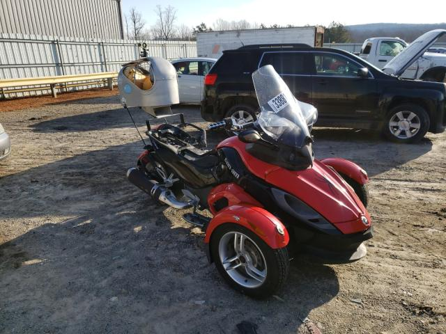 Salvage cars for sale from Copart Chatham, VA: 2009 Can-Am Spyder ROA