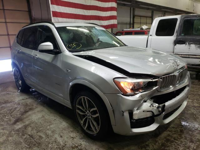 Salvage cars for sale from Copart Littleton, CO: 2017 BMW X3 SDRIVE2