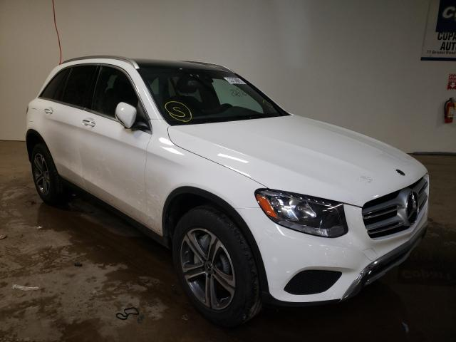 Salvage cars for sale from Copart Chalfont, PA: 2019 Mercedes-Benz GLC 300 4M