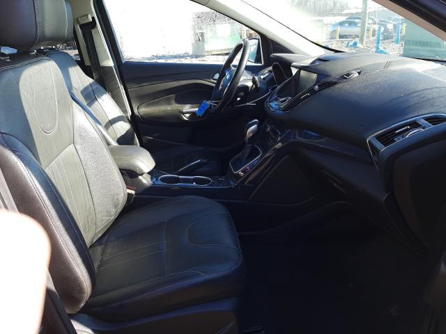 2013 FORD ESCAPE TIT - Left Rear View