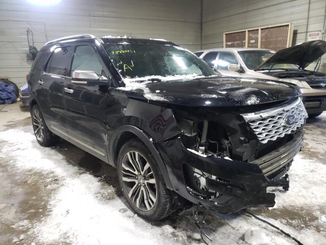 Ford Vehiculos salvage en venta: 2017 Ford Explorer P
