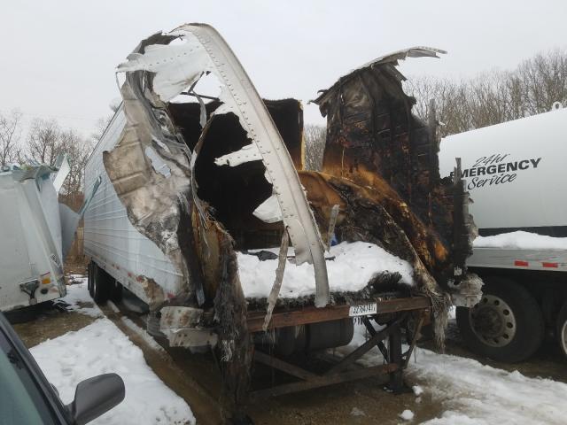 Wabash salvage cars for sale: 2009 Wabash 53'TRAILER