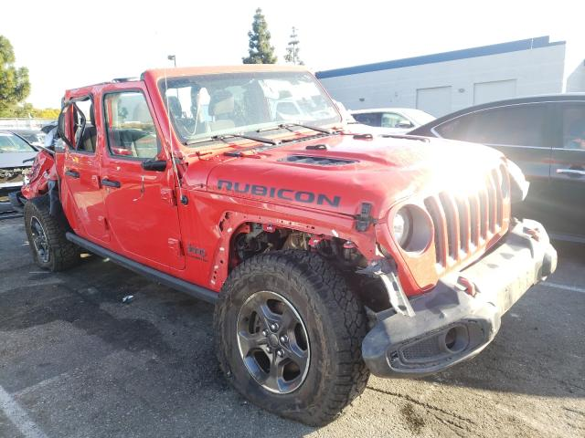 Salvage cars for sale from Copart Rancho Cucamonga, CA: 2020 Jeep Gladiator