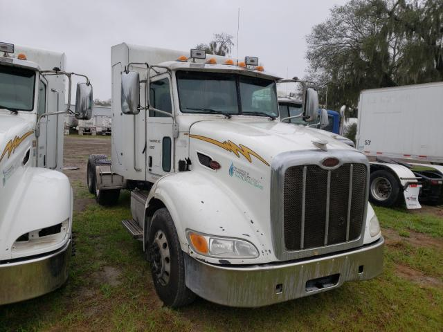 Salvage cars for sale from Copart Riverview, FL: 2014 Peterbilt 384