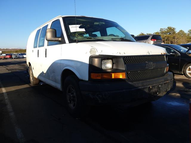Salvage cars for sale from Copart Brookhaven, NY: 2005 GMC Savana G15