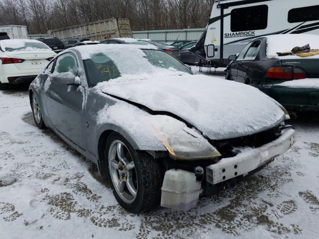 Nissan salvage cars for sale: 2004 Nissan 350Z Coupe