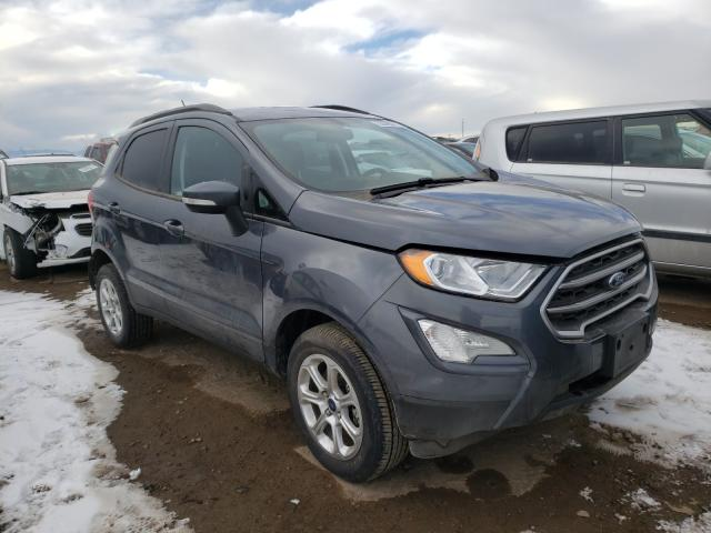 Ford Ecosport S salvage cars for sale: 2020 Ford Ecosport S