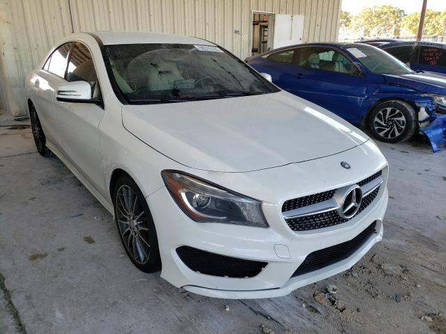 Salvage cars for sale from Copart Homestead, FL: 2016 Mercedes-Benz CLA 250