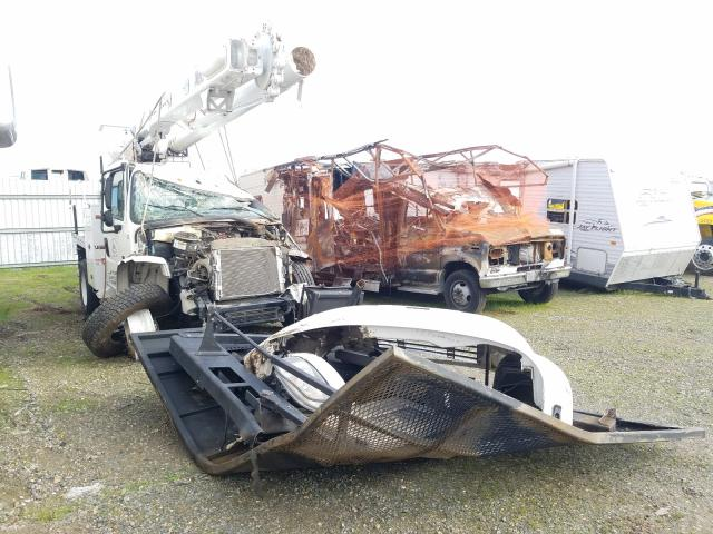 Salvage cars for sale from Copart Sacramento, CA: 2018 Freightliner M2 106 MED