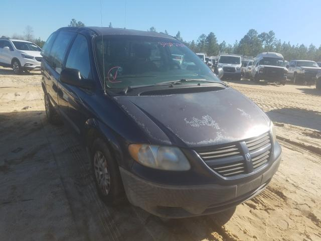 Salvage cars for sale from Copart Gaston, SC: 2006 Dodge Caravan SE