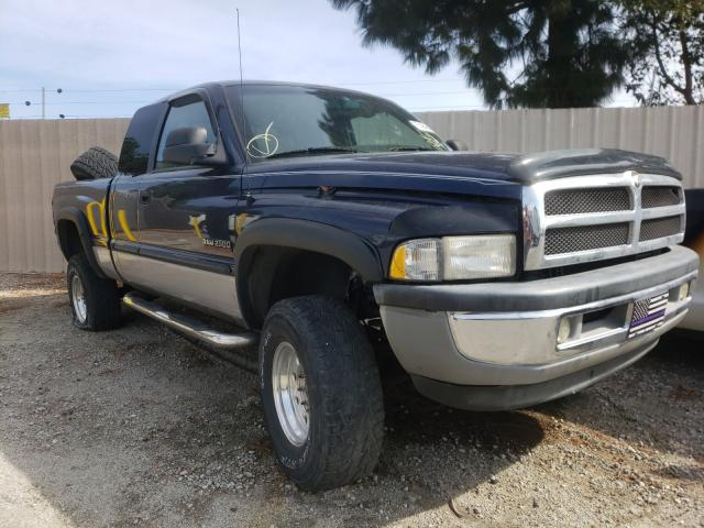Salvage cars for sale from Copart Rancho Cucamonga, CA: 2000 Dodge RAM 2500