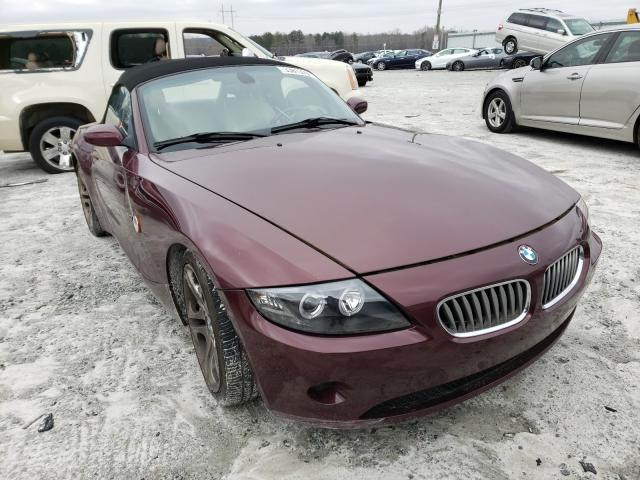 Salvage cars for sale from Copart Loganville, GA: 2004 BMW Z4
