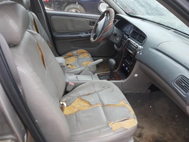 2001 NISSAN ALTIMA GXE - Left Rear View
