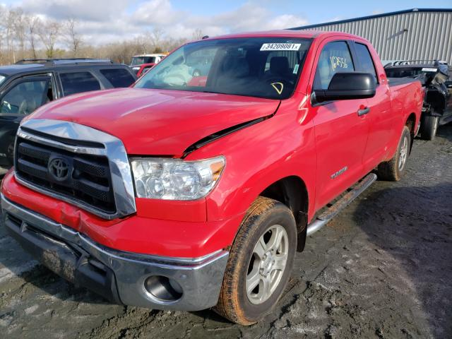 2011 TOYOTA TUNDRA DOU - Left Front View