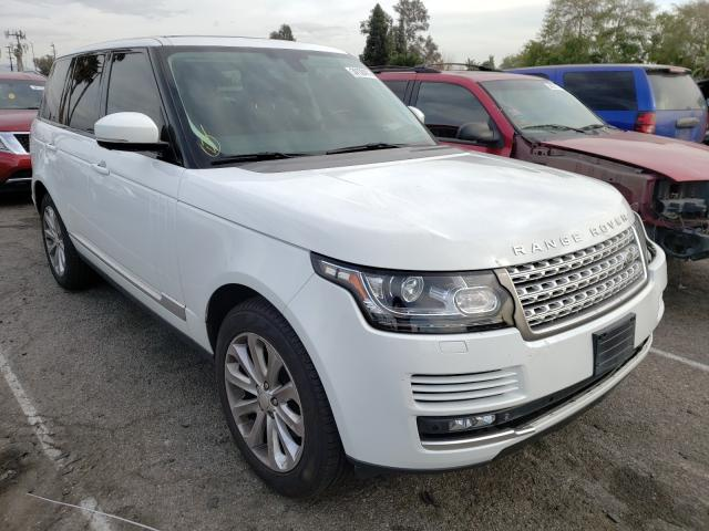 Salvage cars for sale from Copart Van Nuys, CA: 2015 Land Rover Range Rover
