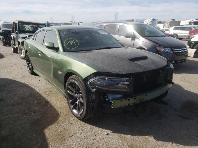 Salvage cars for sale from Copart Tucson, AZ: 2020 Dodge Charger SC