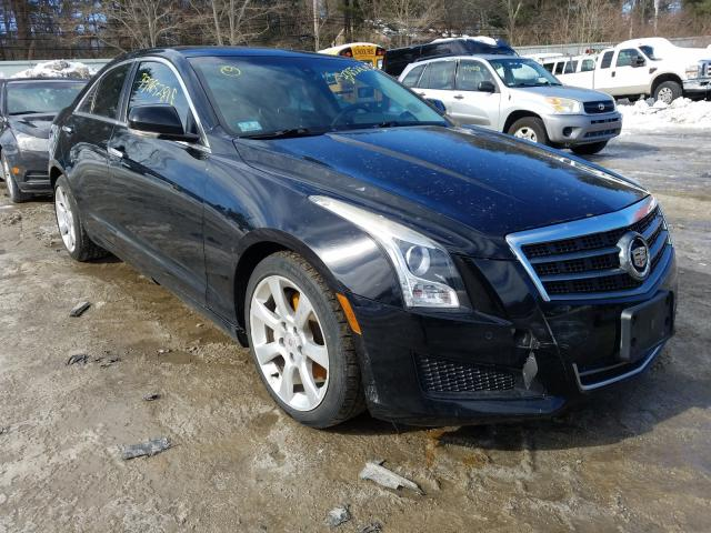Salvage cars for sale from Copart Mendon, MA: 2013 Cadillac ATS