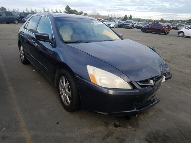 Salvage cars for sale from Copart Vallejo, CA: 2005 Honda Accord EX