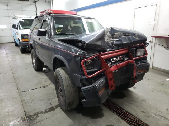 Salvage cars for sale from Copart Pasco, WA: 1991 GMC S15 Jimmy