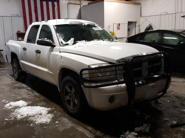 Salvage cars for sale from Copart Billings, MT: 2007 Dodge Dakota Quattro