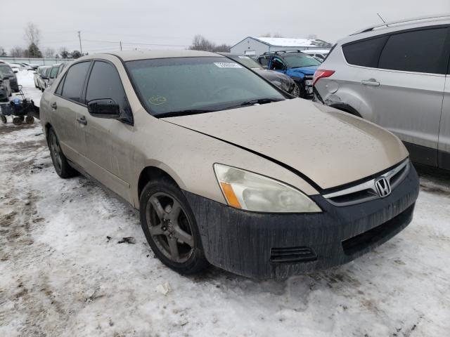 Salvage cars for sale from Copart Columbia Station, OH: 2007 Honda Accord VAL