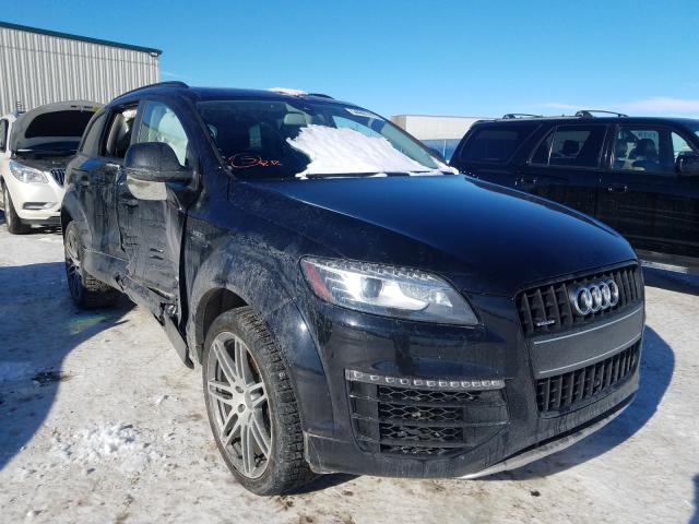 Vehiculos salvage en venta de Copart Rocky View County, AB: 2015 Audi Q7 Premium