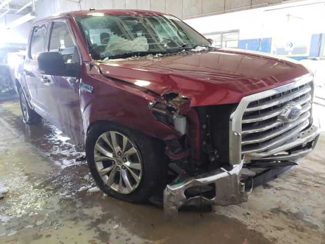 Salvage cars for sale from Copart Indianapolis, IN: 2015 Ford F150 Super