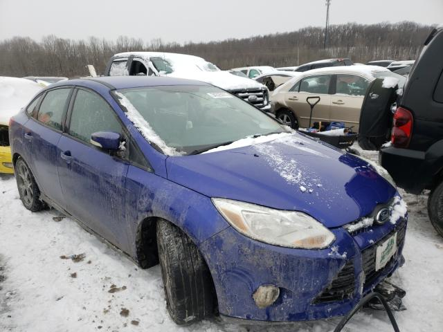 Salvage cars for sale from Copart Lawrenceburg, KY: 2013 Ford Focus SE