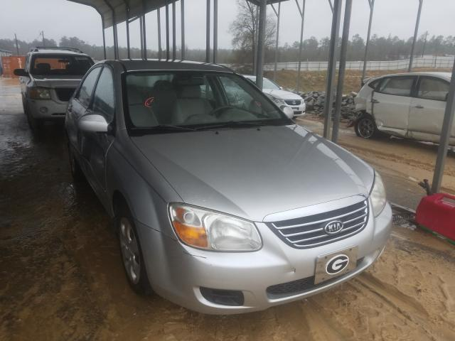 Salvage cars for sale from Copart Gaston, SC: 2009 KIA Spectra EX