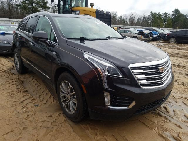 Salvage cars for sale from Copart Gaston, SC: 2017 Cadillac XT5 Luxury