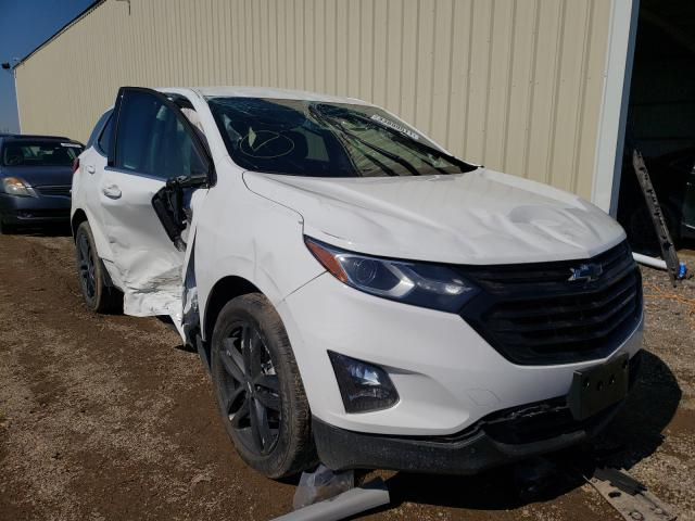 Salvage cars for sale from Copart Houston, TX: 2020 Chevrolet Equinox LT