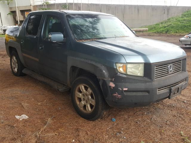 Salvage cars for sale from Copart Kapolei, HI: 2006 Honda Ridgeline
