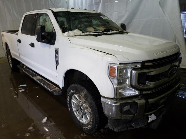 Salvage cars for sale from Copart Central Square, NY: 2020 Ford F350 Super