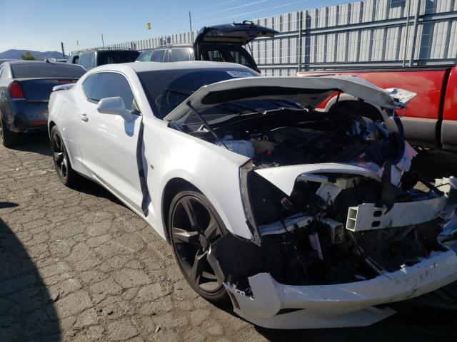 Salvage cars for sale from Copart Colton, CA: 2017 Chevrolet Camaro SS