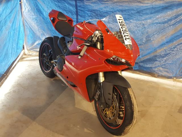 Ducati salvage cars for sale: 2012 Ducati Superbike