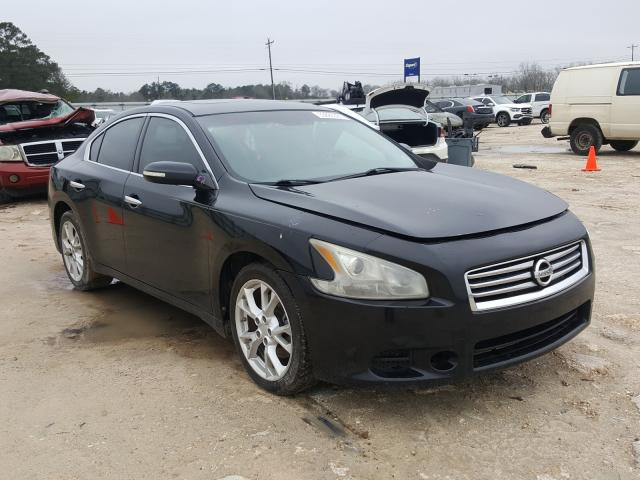 Salvage cars for sale from Copart Newton, AL: 2012 Nissan Maxima S