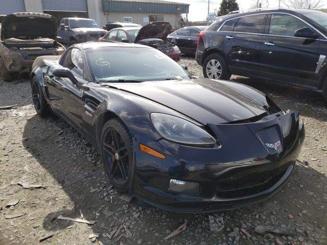 Salvage cars for sale from Copart Eugene, OR: 2007 Chevrolet Corvette Z