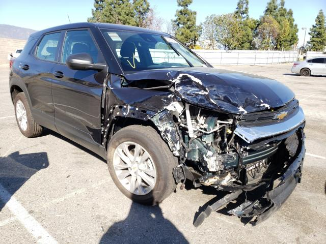 Salvage cars for sale from Copart Rancho Cucamonga, CA: 2021 Chevrolet Trailblazer