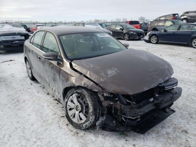 Salvage cars for sale from Copart Appleton, WI: 2013 Volkswagen Jetta SE