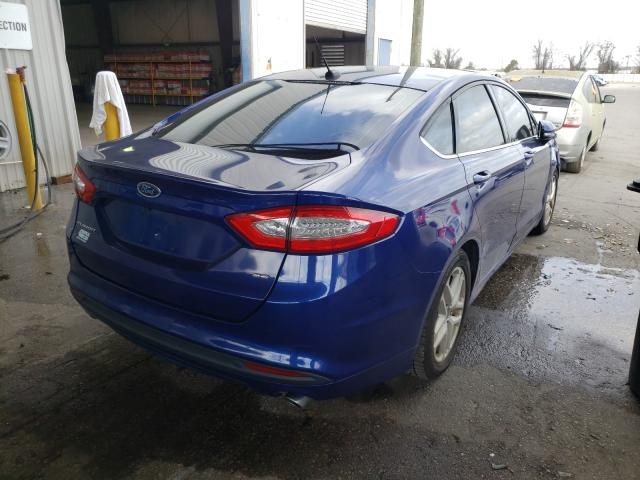 2016 FORD FUSION SE - Right Rear View