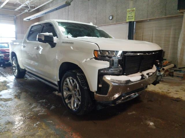 Salvage cars for sale from Copart Indianapolis, IN: 2020 Chevrolet Silverado