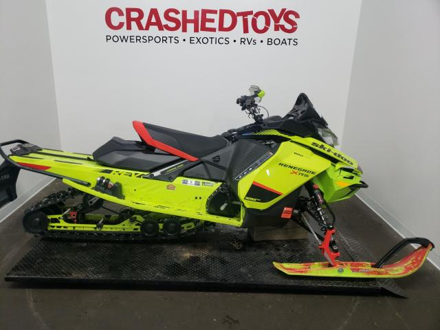 Salvage cars for sale from Copart Ham Lake, MN: 2020 Skidoo Renegade