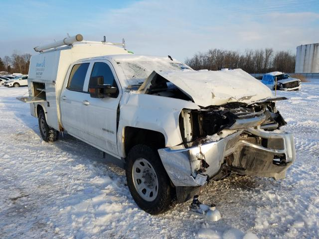 Salvage cars for sale from Copart Central Square, NY: 2015 Chevrolet Silverado